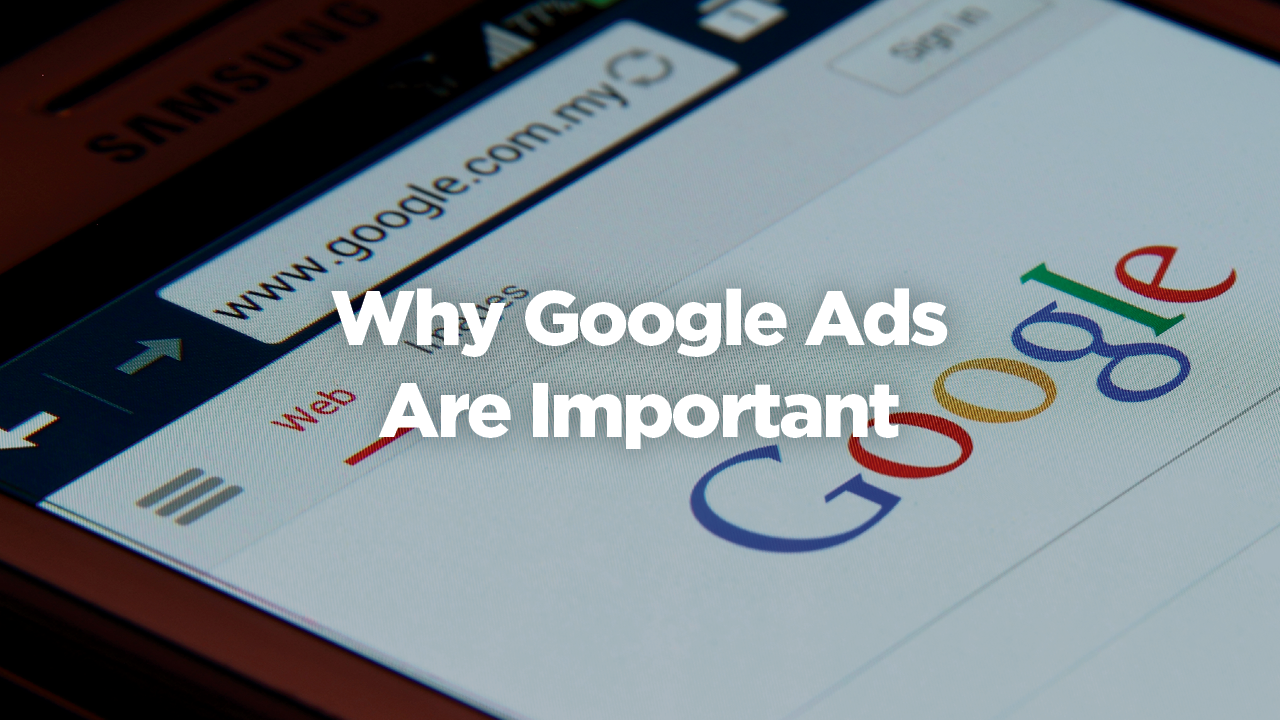 Why Google Ads Are Important